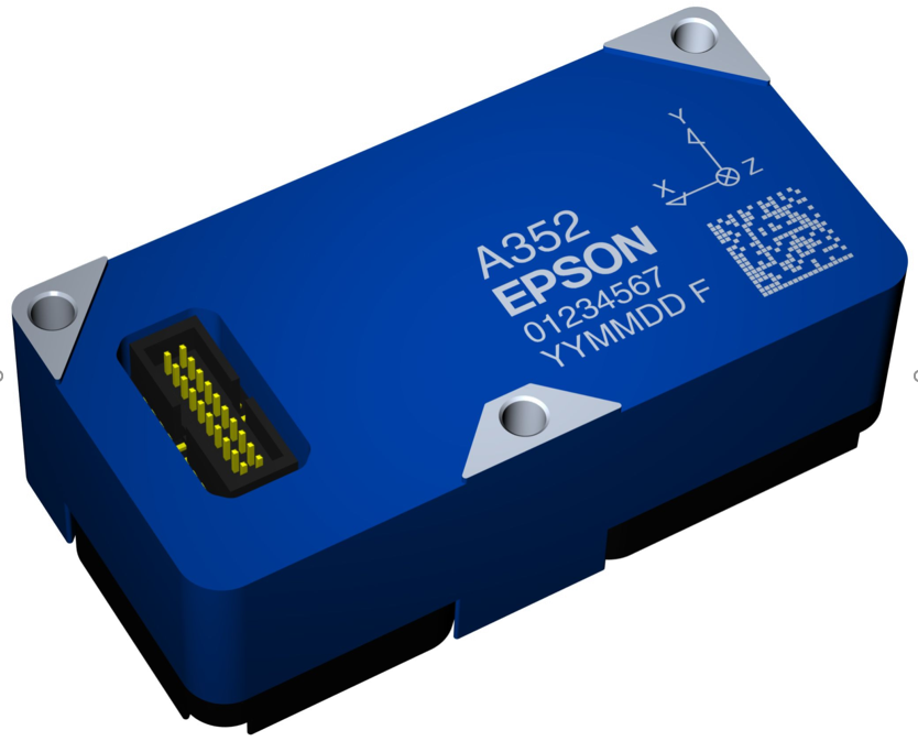 Epson M-A352AD10 accelerometer inclinometer
